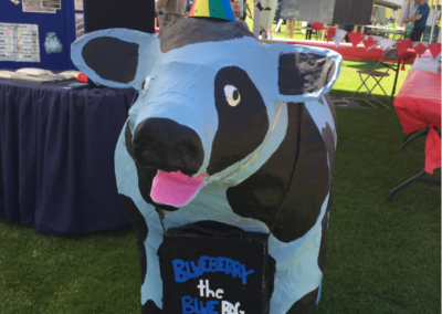 Canada Day 2017 - Blueberry the Blue Bag Cow