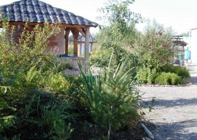 Entering Garden