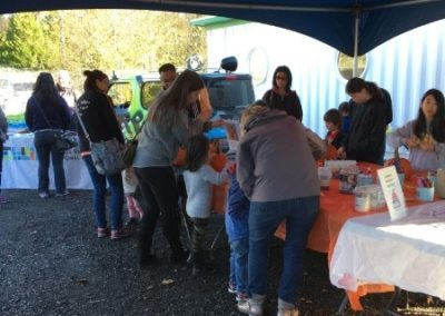 Waste Reduction Week - Pumpkin Decorating 2017 Tent